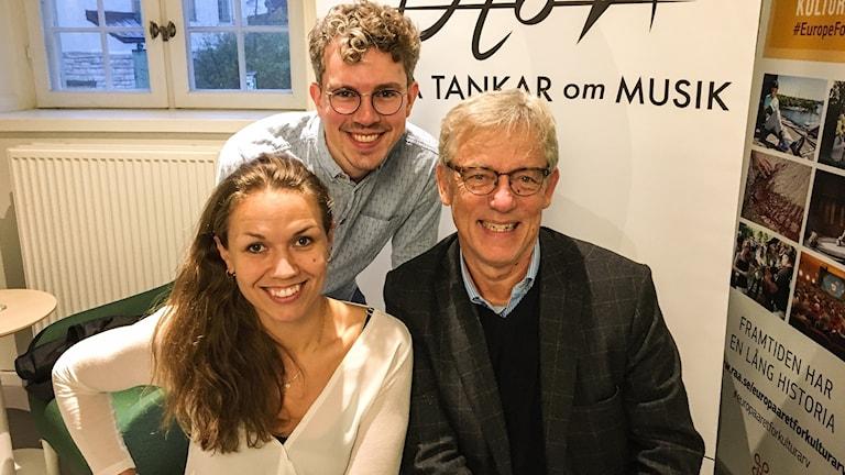Sousou Cissoko, Max Låke och Owe Ronström