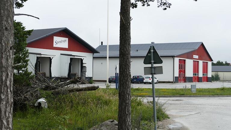 Tilltänkt bryggeritomt i Österby, Visby.