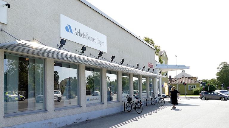 Arbetsförmedlingen i Visby.