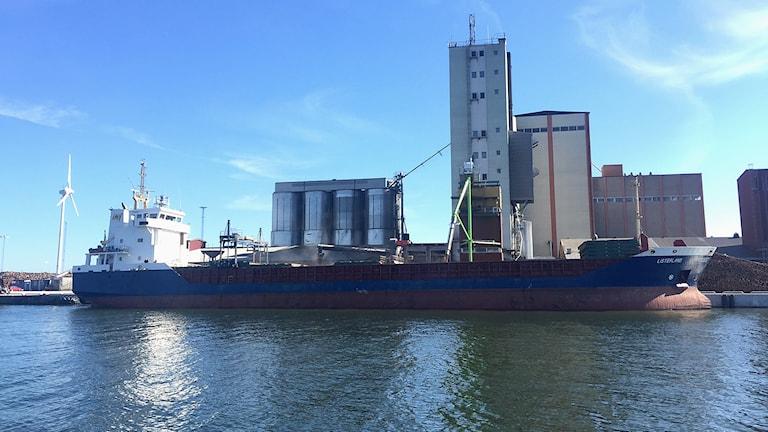 Klintehamns hamn.