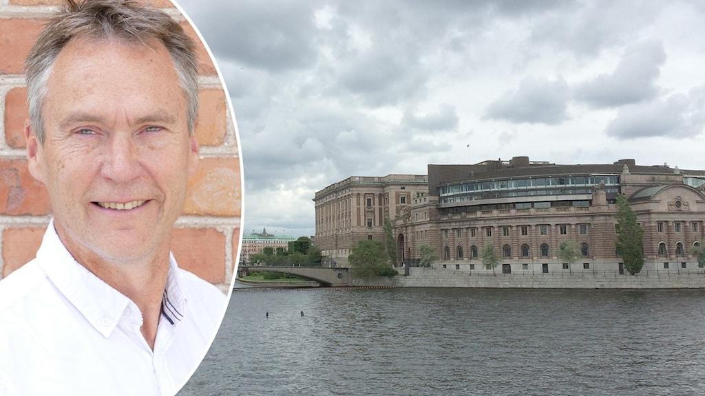 Lars Thomsson (C), ersättare i både försvarsutskottet och finansutskottet.