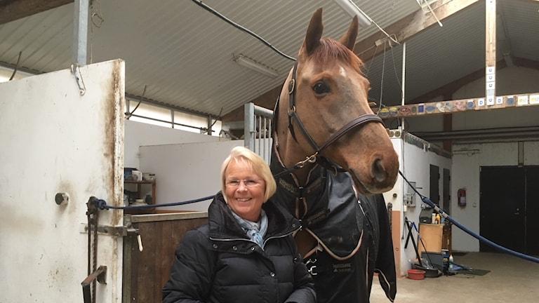 Louise Etzner Årets förebild med sin häst Zernard