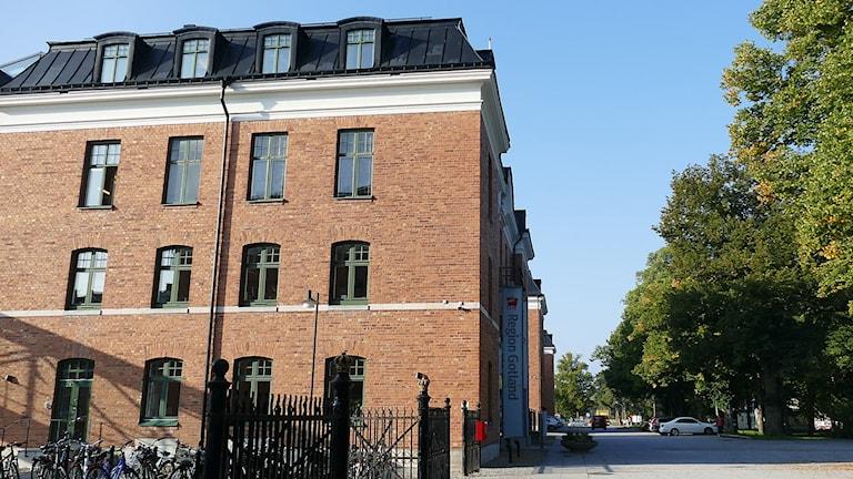 Regionen Gotland Rådhuset på Visborgsområdet