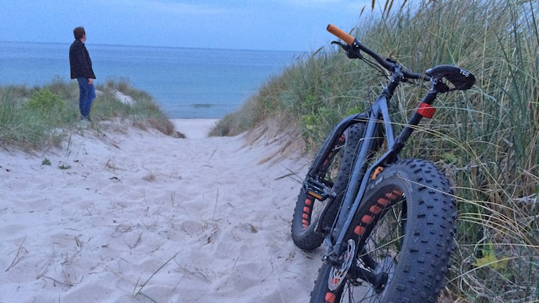 Cykel på Gotska sandön