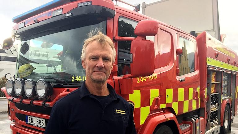 Peter Schöön, brandmästare.