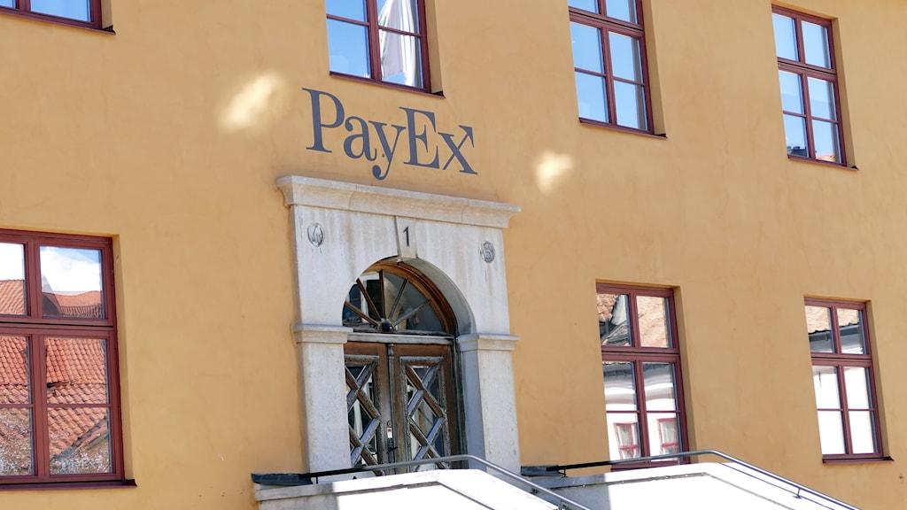 Payex entré vid S:t Hansplan