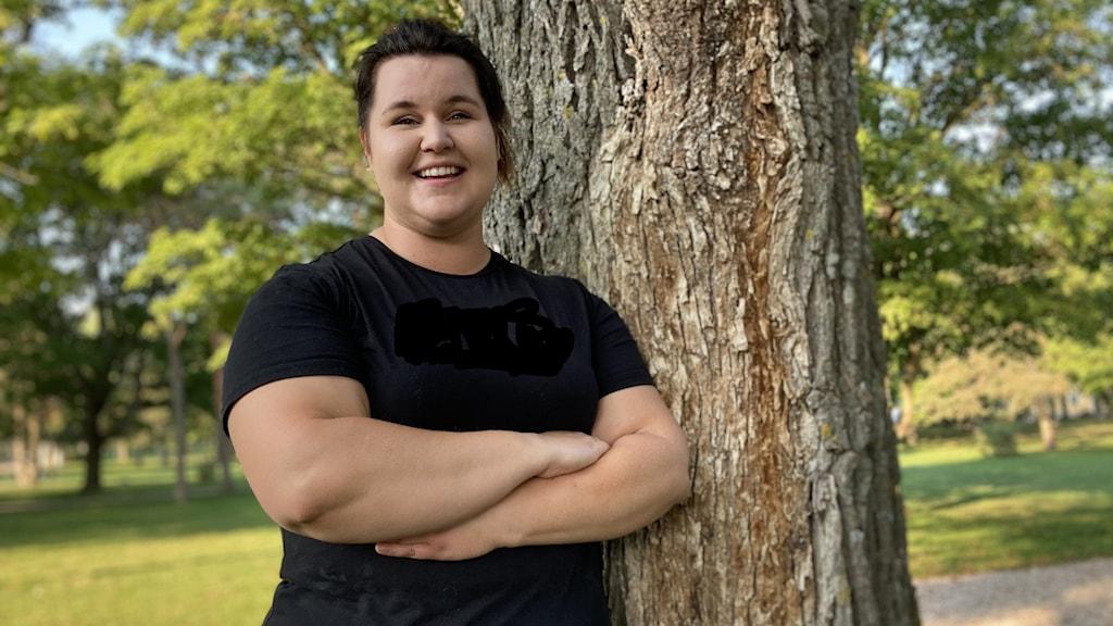 Jenny Wahlberg, styrkelyftare.