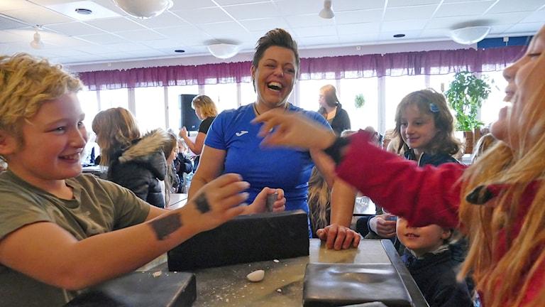 Maris Café i Högbyskolan Hemse