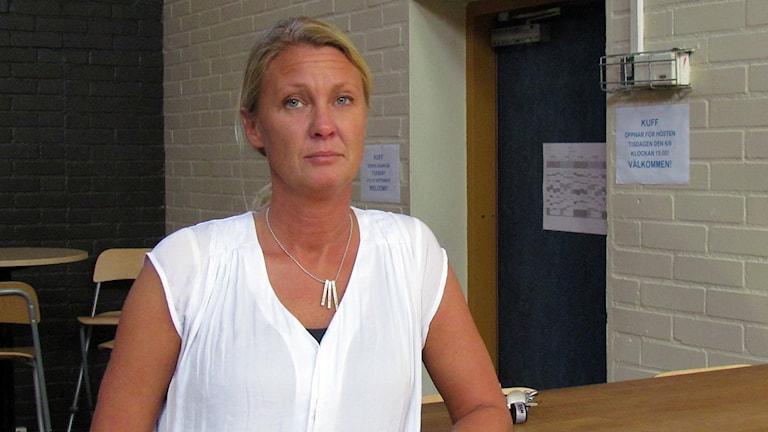 Klinteskolans rektor Jessica Nilsson.