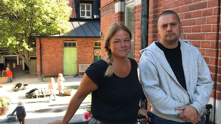 Lotta Nygren & Isaac Hellström, förskolan Positivet.
