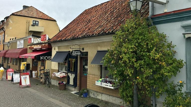 Bulhus på Södertorg i Visby