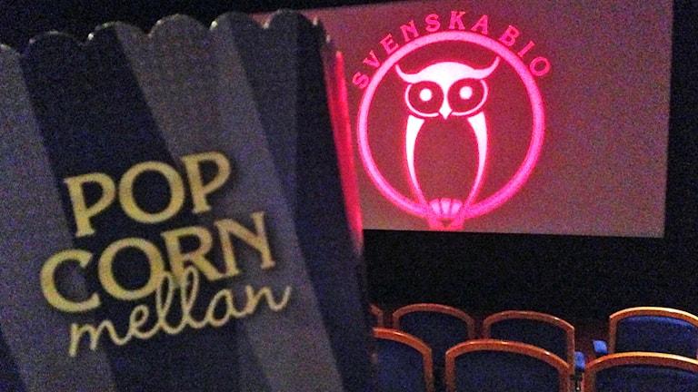 Popcorn på biograf