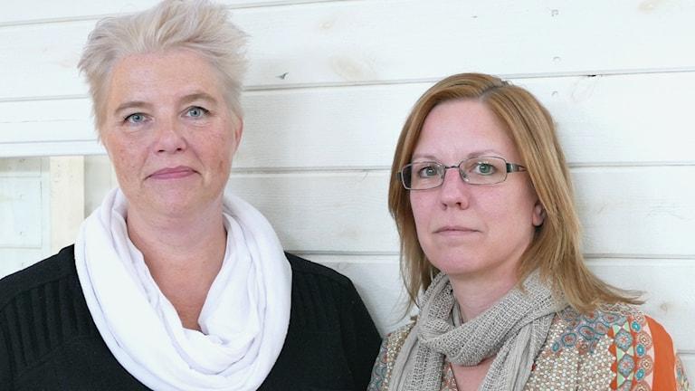 Carina Berghök och Eva Thored
