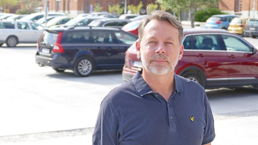Mats Lagerqvist, försvars direktör Länsstyrelsen gotland