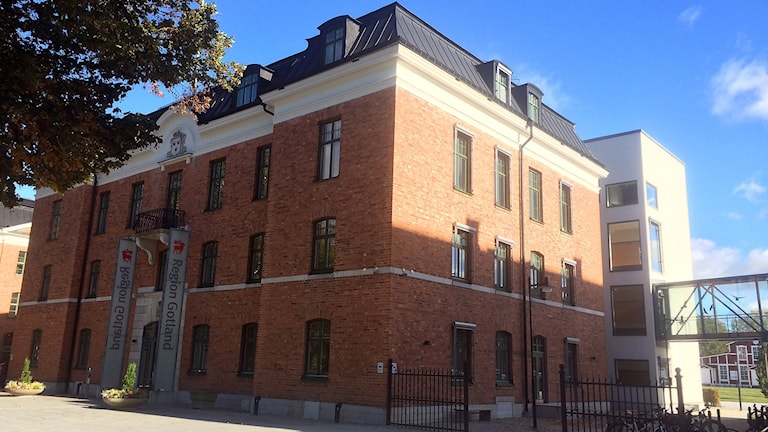 Region Gotlands lokaler Rådhuset på Visborg