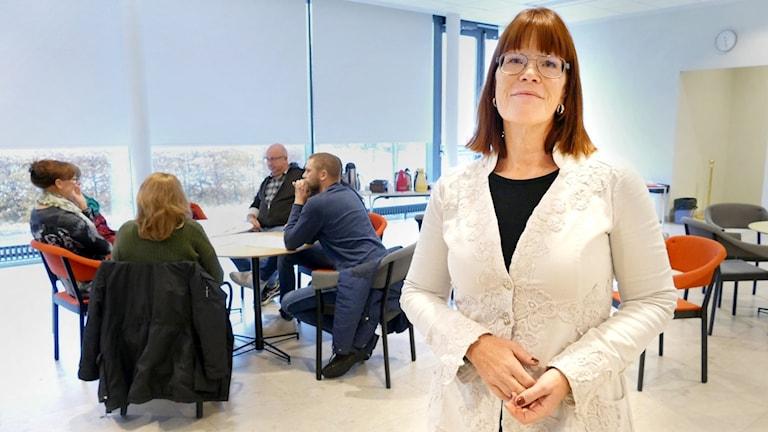 Anna Karlsson, projektledare för LärSam.
