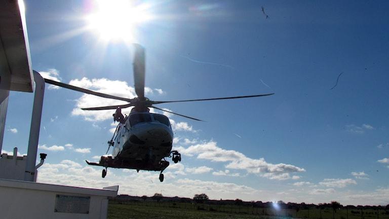 räddningshelikopter från Sjöfartsverket