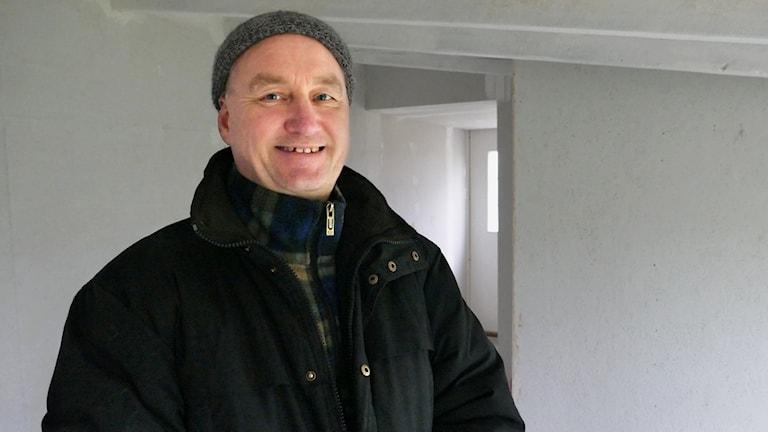 Kjell Samuelsson, grundare till Hemlösas förening på Gotland.