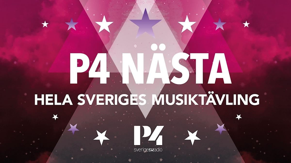 P4 Nästa logotype