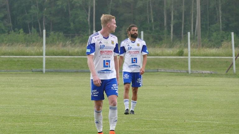 Peter Öhman och Kalle Kayal i Dalhem