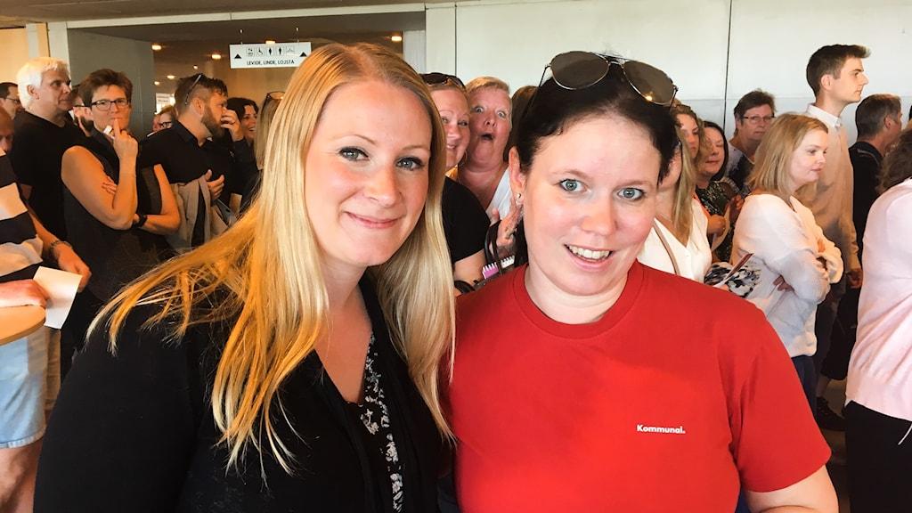 Erika Hellgren och Pia Malmros