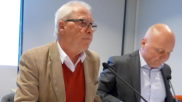 Bo Björkman och Peter Lindvall