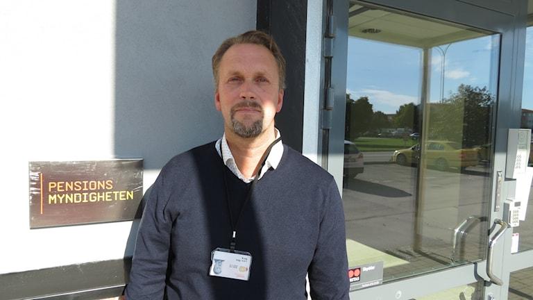 Lars-Åke Borg, gruppchef Pensionsmyndigheten Visby