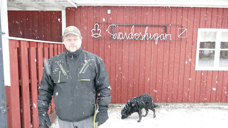 Micke Andersson, vaktmästare Svajdestugan