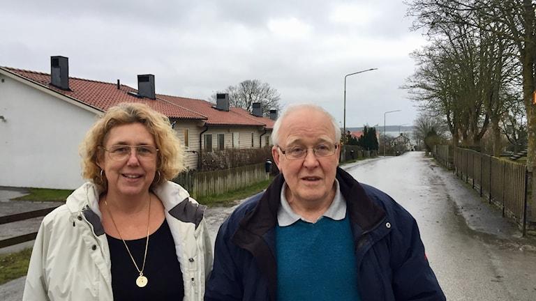 Susanne Serck och Hasse Rosengren i Fårösund