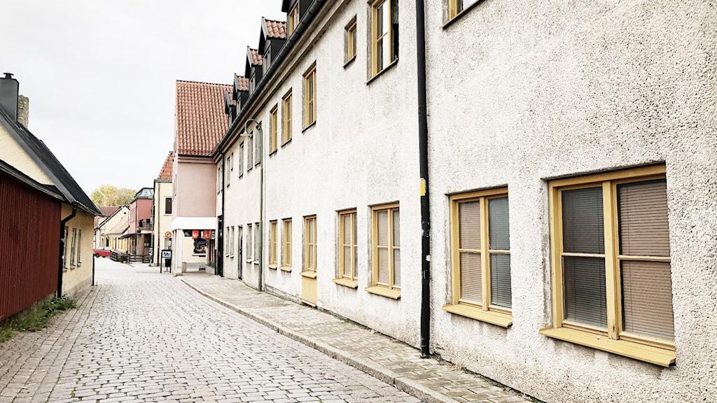 Gotlandshems nya lägenheter i innestan. Östertull.