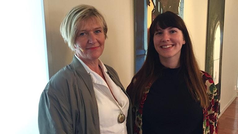 Ulrika Sedell och Nina Lund