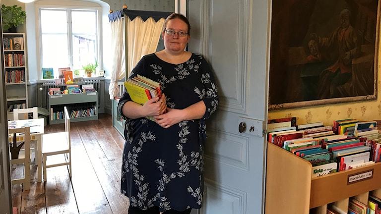 Isabelle Wårfors, bibliotekarie
