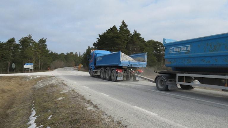 Det saknas lastbilsförare. Foto: Katarina Hedström/Sveriges Radio
