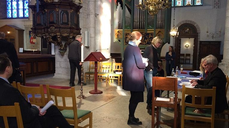 Biskopsval Domkyrkan visby