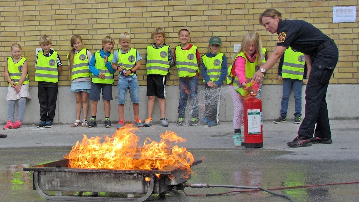 Brandskyddsveckan på Gotland
