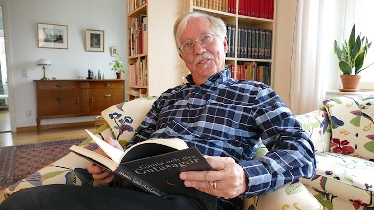 Folklivsforskare Ulf Palmenfelt läser ur sin nya bok Gamla och nya Gutasagor