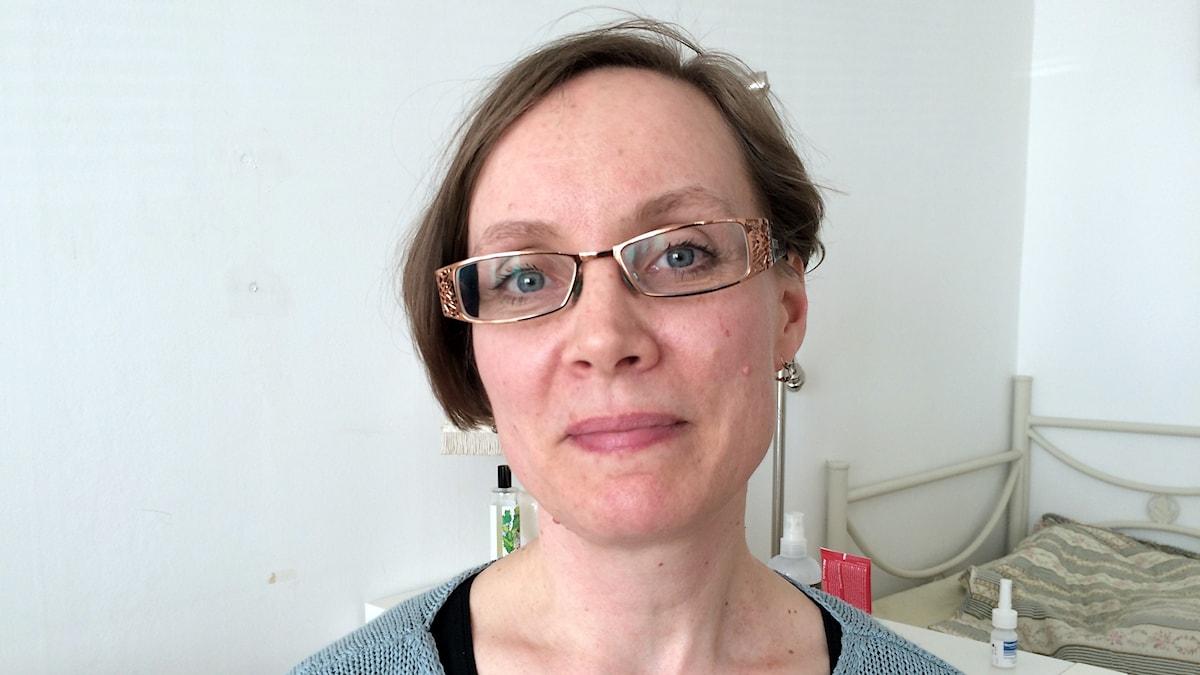 Marie Bosarfve är ordförande för Adoptionscentrum Gotland
