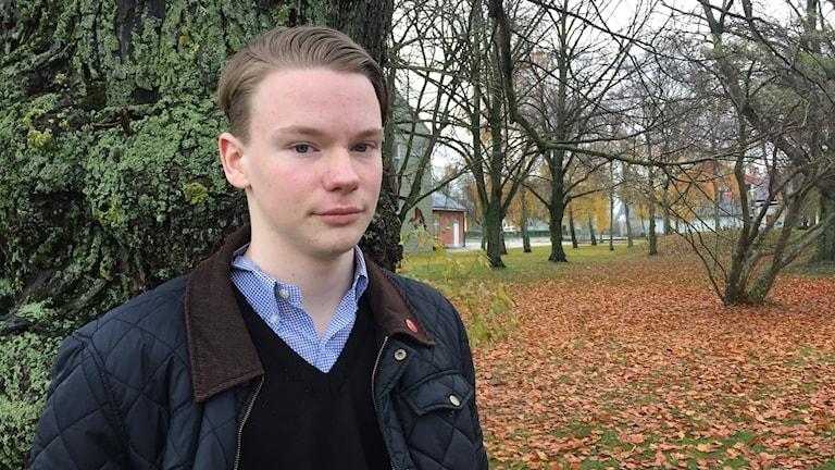 Jonathan Carlsson, Ombudsman SSU. 2:e vice ordförande regionfullmäktige.