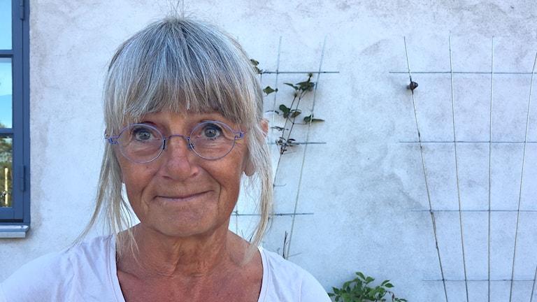 Lotta Persson är veterinär och berättar att de vilda djuren på Gotland har det tufft i torkan.