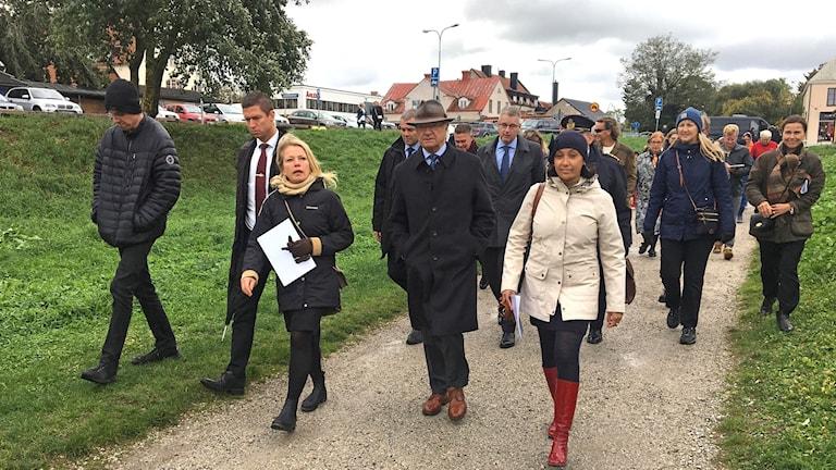 Kungen besöker Gotland