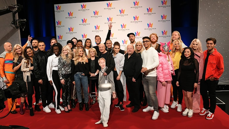 Deltagarna i Melodifestivalen 2018