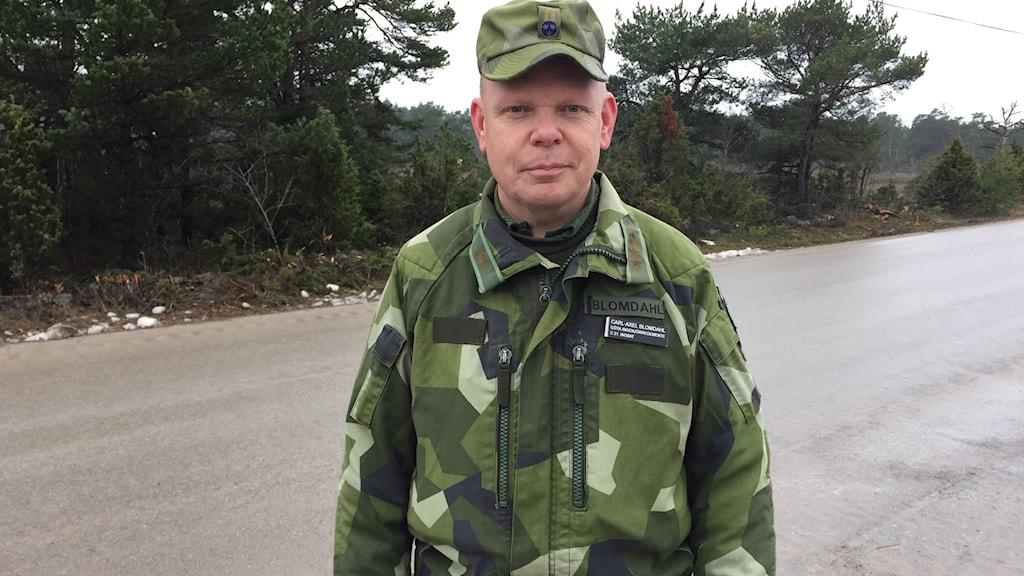 Carl-Axel Blomdahl, bataljonschef ING 2