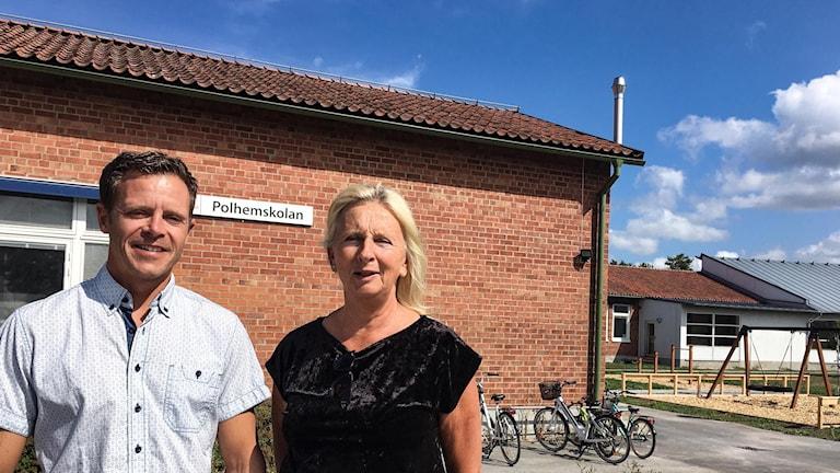 Henrik Hammarskjöld och Ewa Lindblom