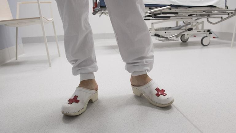bild på sjukhusskor