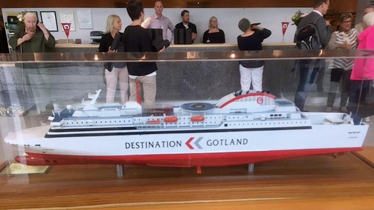 Destination Gotlands nya färja