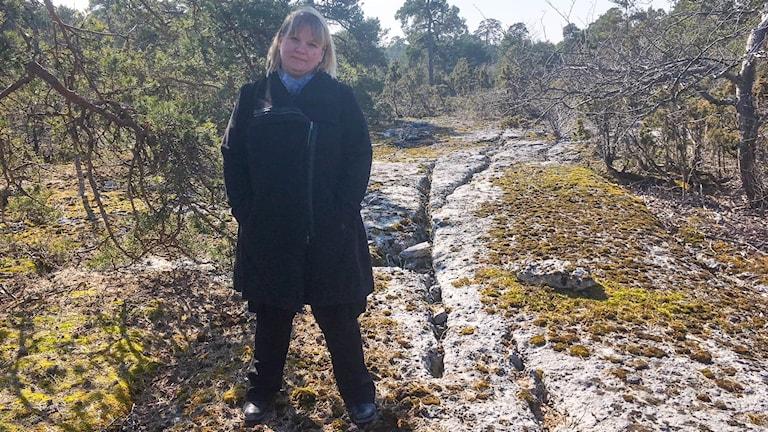 Frida Eklund på Länsstyrelsen i Gotlands län