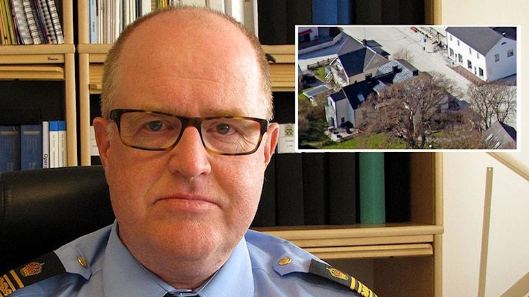Mats Holst och bild på Hassela Gotland i Klintehamn