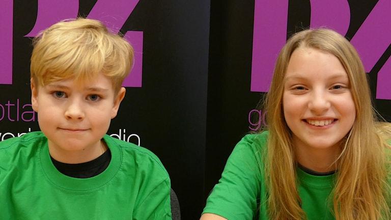 Solbergaskolan vind: Fabian Gustafsson och Klara Varga