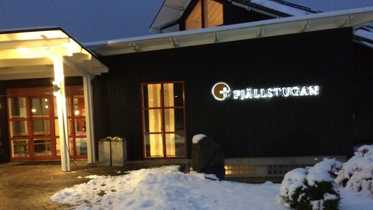 Fjällstugan, Jönköping i Allhelgonatid.