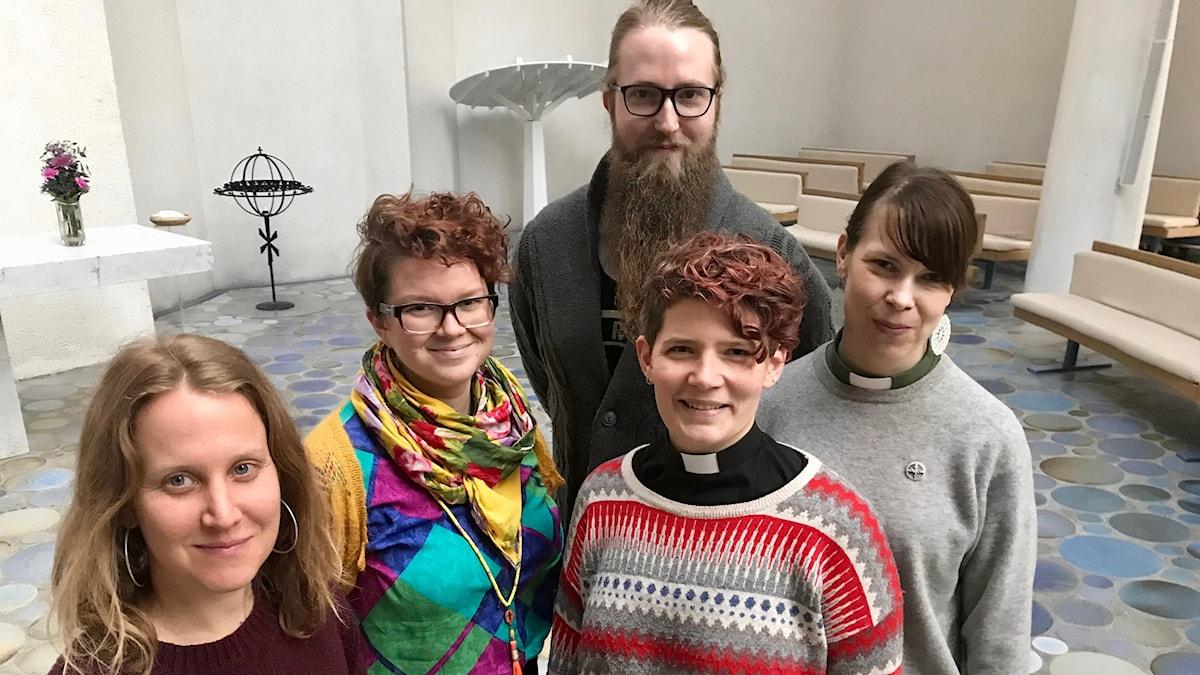 Anna Thorstensson, Karolina Larsson, Agge Angusson, Ida Wreland, Christina Ohlsson